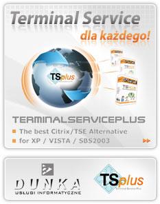 TSplus - Terminal Service dla każdego!
