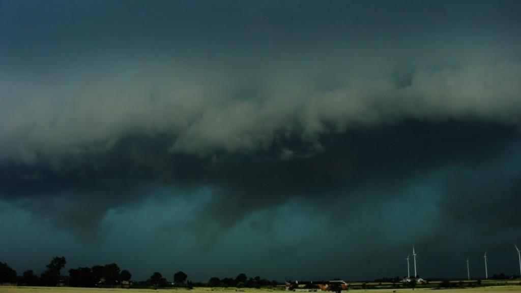 Burza frontowa 19 lipca 2015 r. Fot. Artur Surowiecki