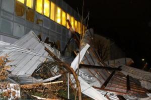 Zniszczenia w Szwajcarii