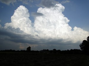 Rozwijające się komórki burzowe (fot. Janek Jakóbczak)