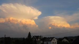 Chmury burzowe (fot. Piotr Żurowski)