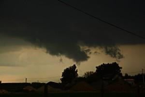 Podstawa wolna od opadów jest często związana z występowaniem chmury stropowej (fot. Krzysztof Piasecki)