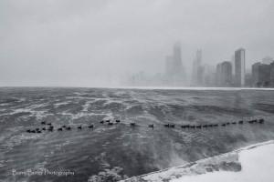 Chicago w śniegu