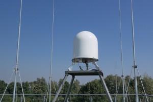 Radar meteorologiczny znajdujący się w Goczałkowicach