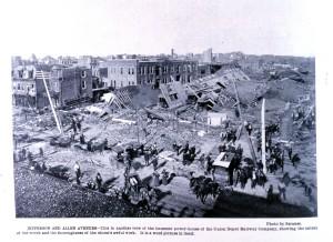 Zniszczenia z St. Louis