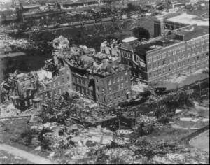 Wielkie zniszczenia w Worcester