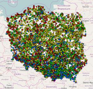 Do 2016 r. zgłoszono do bazy ESWD ponad 10 tys. raportów o gwałtownej pogodzie z obszaru Polski. Zachęcamy Państwa do dodawania raportów z Waszej okolicy, co pomaga w prowadzonych badaniach.