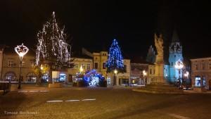 Pogoda na Święta, rynek w Brzesku.