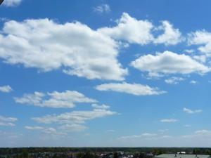 Chmury Cumulus humilis. Fot. Igor Laskowski